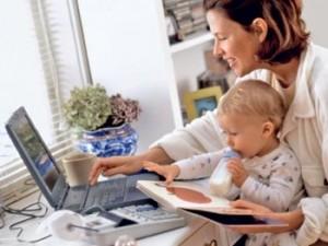 5 экспресс-советов для мам, работающих дома с детьми