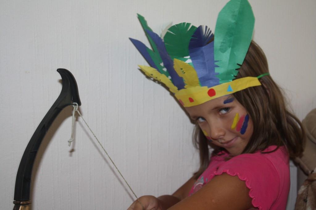 Перья для костюма индейца своими руками 48
