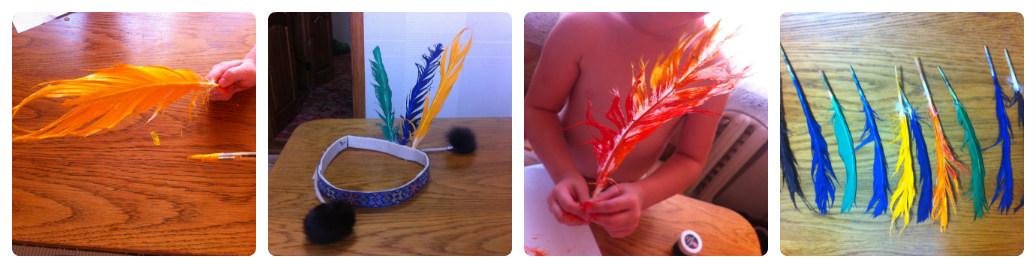 collage ind Увлекательные выходные с детьми: Перевоплощаемся в индейцев