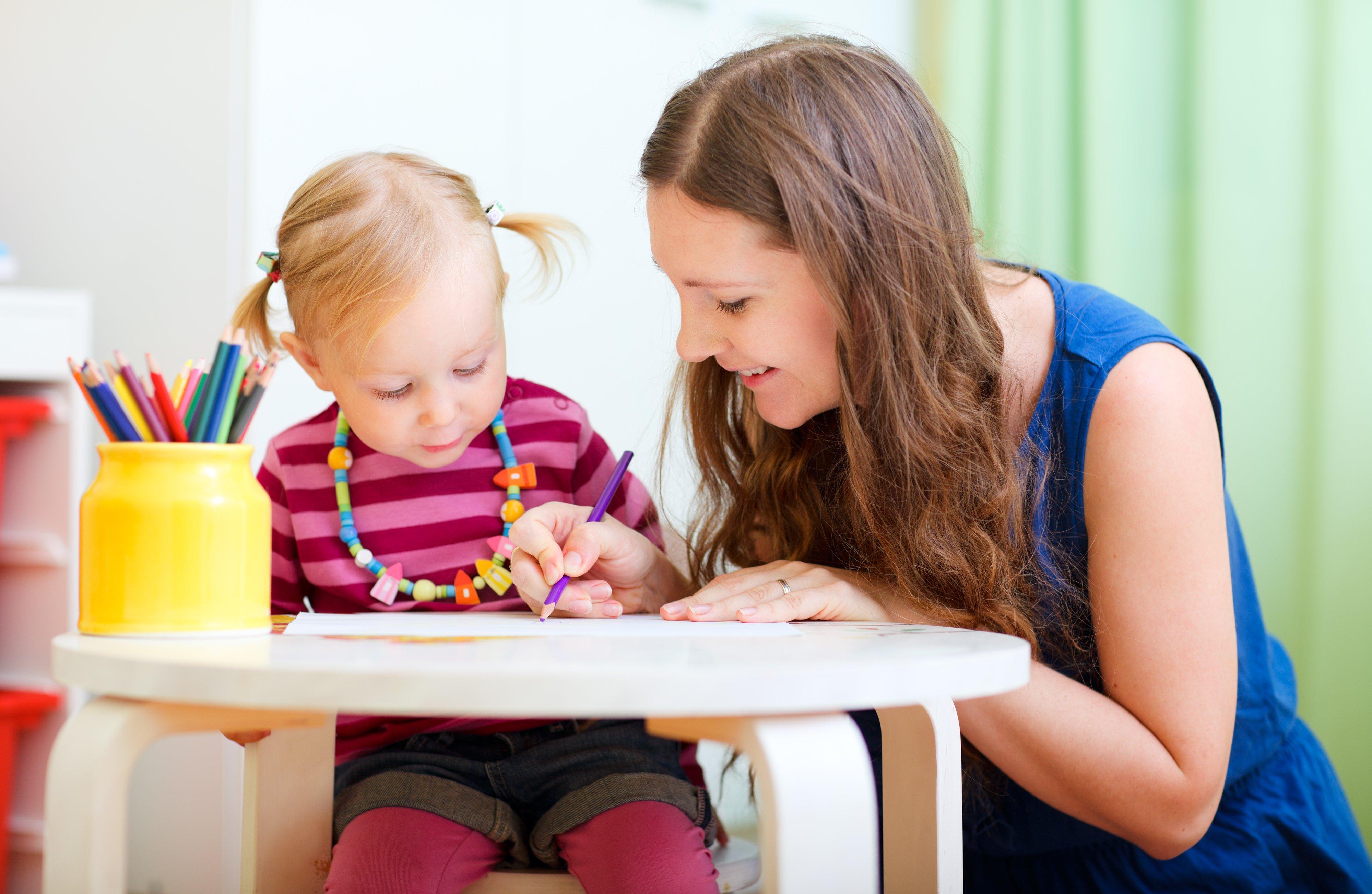 ребенок с мамой картинки